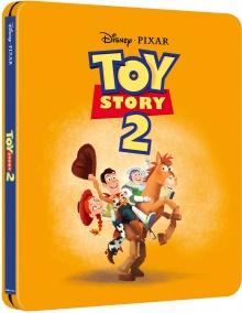 Toy Story 2 (1999) de John Lasseter, Ash Brannon & Lee Unkrich - Steelbook - Packshot Blu-ray 4K Ultra HD