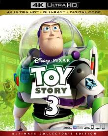 Toy Story 3 (2010) de Lee Unkrich - Packshot Blu-ray 4K Ultra HD