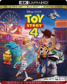 Toy Story 4 (2019) de Josh Cooley - Packshot Blu-ray 4K Ultra HD