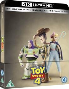 Toy Story 4 (2019) de Josh Cooley - Steelbook - Packshot Blu-ray 4K Ultra HD