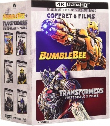 Transformers - L'intégrale 5 films + Bumblebee - Packshot Blu-ray 4K Ultra HD