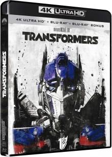 Transformers (2007) de Michael Bay - Packshot Blu-ray 4K Ultra HD