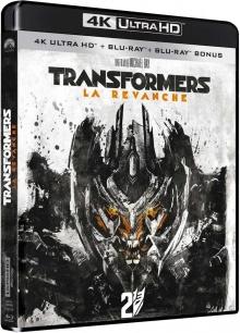 Transformers 2 : La revanche (2009) de Michael Bay - Packshot Blu-ray 4K Ultra HD