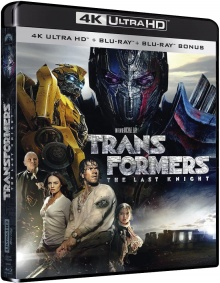 Transformers 5 : The Last Knight (2017) de Michael Bay - Édition 2017 - Packshot Blu-ray 4K Ultra HD