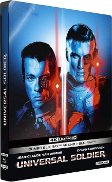 Universal Soldier (1992) de Roland Emmerich - Packshot Blu-ray 4K Ultra HD
