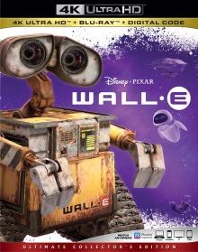 Wall-E (2008) de Andrew Stanton - Packshot Blu-ray 4K Ultra HD