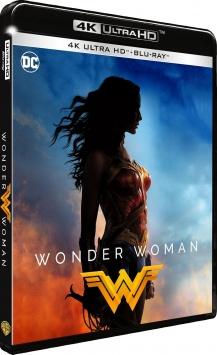 Wonder Woman (2017) de Patty Jenkins - Packshot Blu-ray 4K Ultra HD