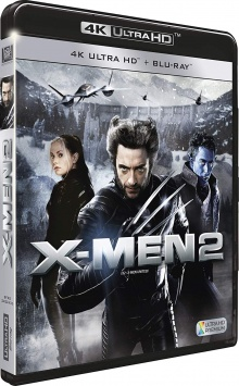 X-Men 2 (2003) de Bryan Singer - Packshot Blu-ray 4K Ultra HD
