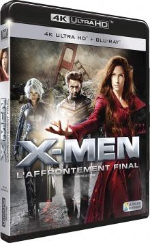 X-Men : L'affrontement final (2006) de Brett Ratner - Packshot Blu-ray 4K Ultra HD