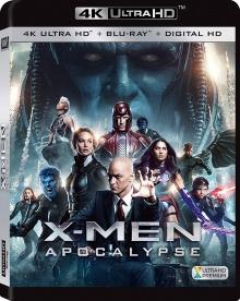 X-Men : Apocalypse (2016) de Bryan Singer - Packshot Blu-ray 4K Ultra HD