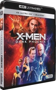 X-Men : Dark Phoenix (2019) de Simon Kinberg - Packshot Blu-ray 4K Ultra HD