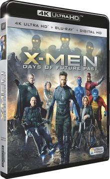 X-Men : Days of Future Past (2014) de Bryan Singer - Packshot Blu-ray 4K Ultra HD