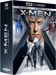 X-Men - La prélogie : X-Men : Le commencement + X-Men : Days of Future Past + X-Men : Apocalypse - Packshot Blu-ray 4K Ultra HD