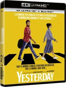 Yesterday (2019) de Danny Boyle – Packshot Blu-ray 4K Ultra HD