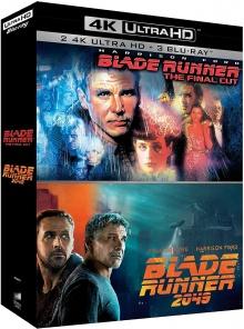 Blade Runner - The Final Cut + Blade Runner 2049 – Packshot Blu-ray 4K Ultra HD