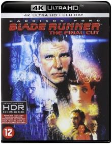 Blade Runner - The Final Cut (1982) de Ridley Scott – Packshot Blu-ray 4K Ultra HD
