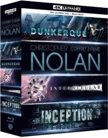 Christopher Nolan : Coffret 3 Films - Packshot Blu-ray 4K Ultra HD