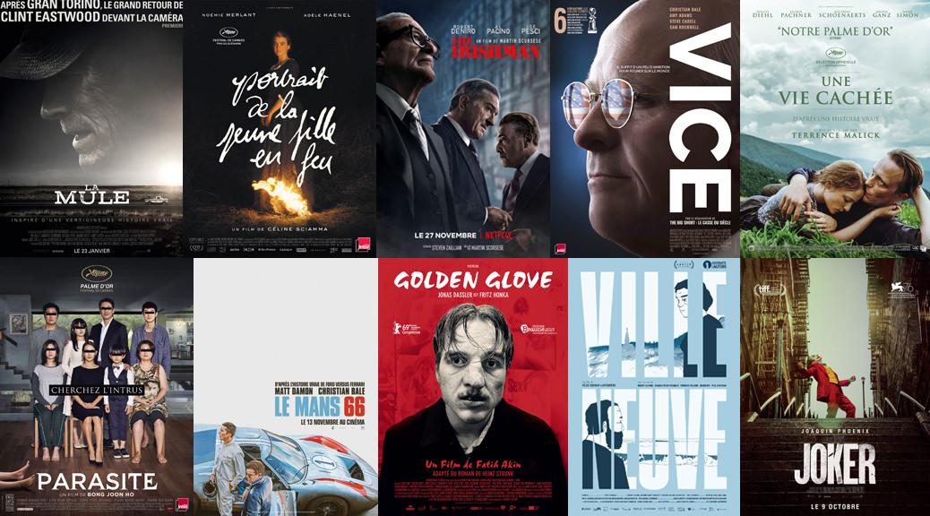 Image une - Tops cinéma 2019