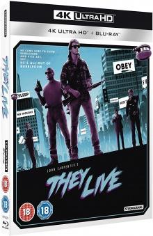 Invasion Los Angeles (1988) de John Carpenter - Packshot Blu-ray 4K Ultra HD
