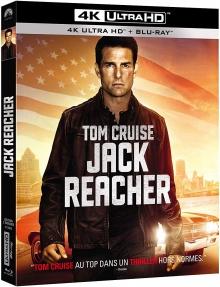Jack Reacher (2012) de Christopher McQuarrie – Packshot Blu-ray 4K Ultra HD