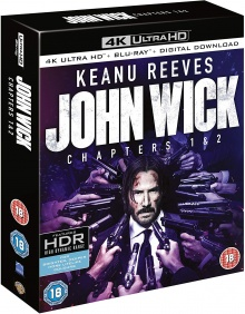 John Wick 1 & 2 – Packshot Blu-ray 4K Ultra HD
