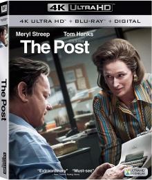 Pentagon Papers (2017) de Steven Spielberg – Packshot Blu-ray 4K Ultra HD