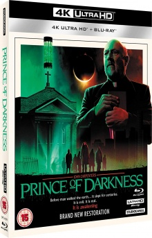 Prince des ténèbres (1987) de John Carpenter - Packshot Blu-ray 4K Ultra HD