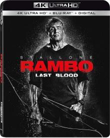 Rambo: Last Blood (2019) de Adrian Grunberg – Packshot Blu-ray 4K Ultra HD