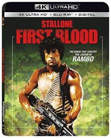 Rambo (1982) de Ted Kotcheff – Packshot Blu-ray 4K Ultra HD
