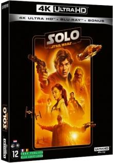 Solo : A Star Wars Story (2018) de Ron Howard – Edition 2020 - Packshot Blu-ray 4K Ultra HD