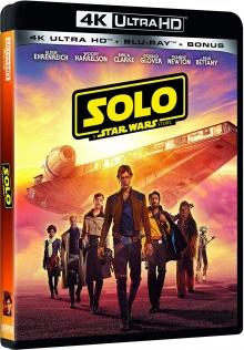 Solo : A Star Wars Story (2018) de Ron Howard – Packshot Blu-ray 4K Ultra HD