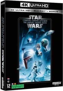 Star Wars, épisode V : L'Empire contre-attaque (1980) de Irvin Kershner – Packshot Blu-ray 4K Ultra HD