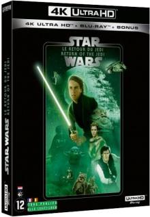Star Wars, épisode VI : Le Retour du Jedi (1983) de Richard Marquand – Packshot Blu-ray 4K Ultra HD