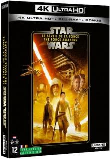 Star Wars, épisode VII - Le Réveil de la Force (2015) de J.J. Abrams – Packshot Blu-ray 4K Ultra HD