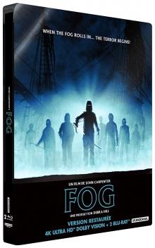 The Fog (1980) de John Carpenter - Packshot Blu-ray 4K Ultra HD