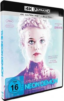 The Neon Demon (2016) de Nicolas Winding Refn – Packshot Blu-ray 4K Ultra HD