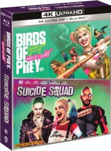 Birds of Prey et la fantabuleuse histoire de Harley Quinn + Suicide Squad – Packshot Blu-ray 4K Ultra HD