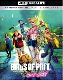 Birds of Prey et la fantabuleuse histoire de Harley Quinn (2020) de Cathy Yan – Packshot Blu-ray 4K Ultra HD