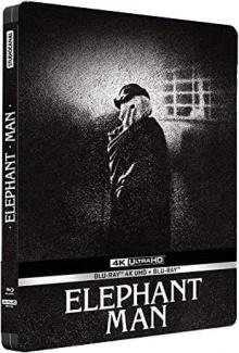 Elephant Man (1980) de David Lynch - Packshot Blu-ray 4K Ultra HD