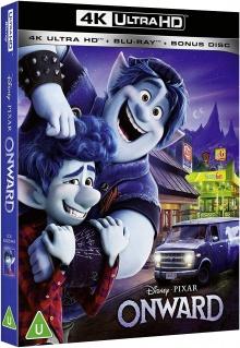 En avant (2020) de Dan Scanlon – Packshot Blu-ray 4K Ultra HD