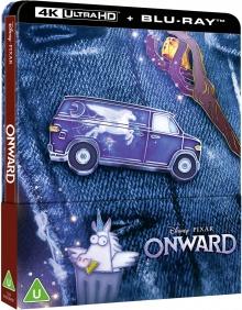 En avant (2020) de Dan Scanlon - SteelBook – Packshot Blu-ray 4K Ultra HD