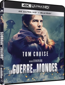 La Guerre des mondes (2005) de Steven Spielberg – Packshot Blu-ray 4K Ultra HD