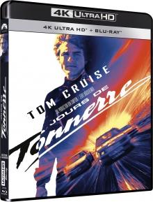 Jours de Tonnerre (1990) de Tony Scott – Packshot Blu-ray 4K Ultra HD