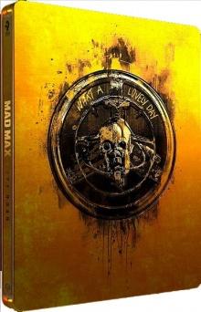 Mad Max : Fury Road (2015) de George Miller - Édition Titans of Cult - SteelBook– Packshot Blu-ray 4K Ultra HD