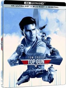 Top Gun (1986) de Tony Scott - Édition Steelbook – Packshot Blu-ray 4K Ultra HD
