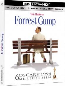 Forrest Gump (1994) de Robert Zemeckis - Packshot Blu-ray 4K Ultra HD