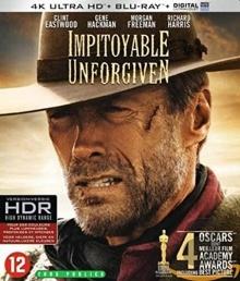 Impitoyable (1992) de Clint Eastwood - Packshot Blu-ray 4K Ultra HD