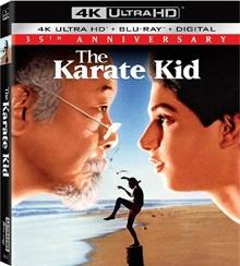 Karaté Kid, Le moment de vérité (1984) de John G. Avildsen - Packshot Blu-ray 4K Ultra HD