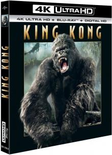 King Kong (2005) de Peter Jackson - Packshot Blu-ray 4K Ultra HD