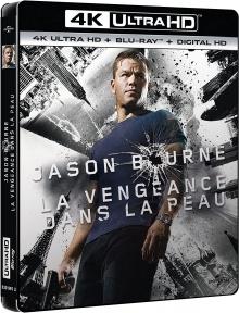 La Vengeance dans la Peau (2007) de Paul Greengrass - Packshot Blu-ray 4K Ultra HD